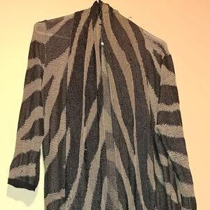 CAlvin Klein Light Knit Wear Sweater Shrug Coverup